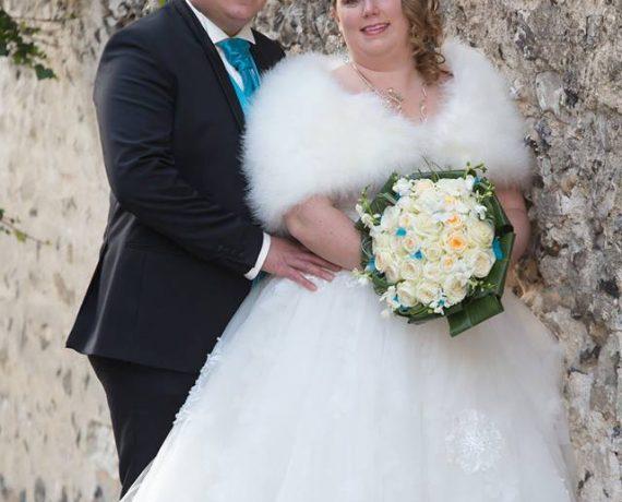 Parure mariée Perles et turquoise