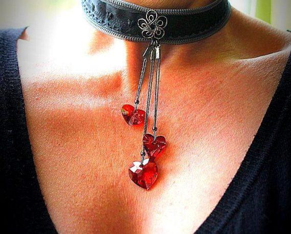 Les colliers de Vanille & Prune