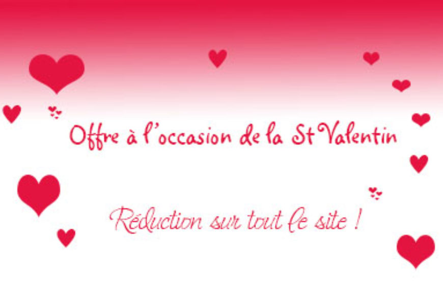 A l'occasion de la St Valentin …