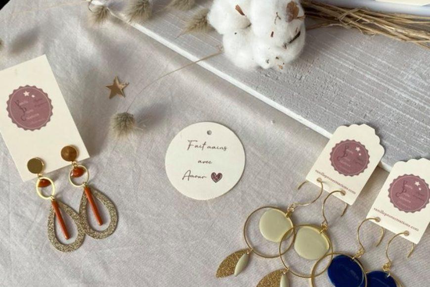 Une jolie collection de Boucles d'oreilles pour le printemps !